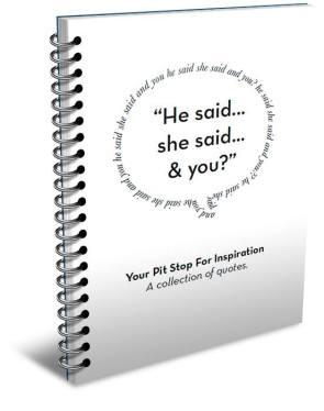 'He Said, She Said, and You' - Paul Sohn